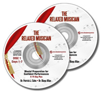 The Relaxed Musician CDs